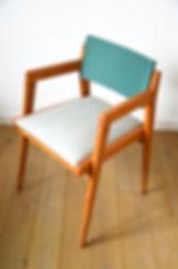 chaise scandinave vert