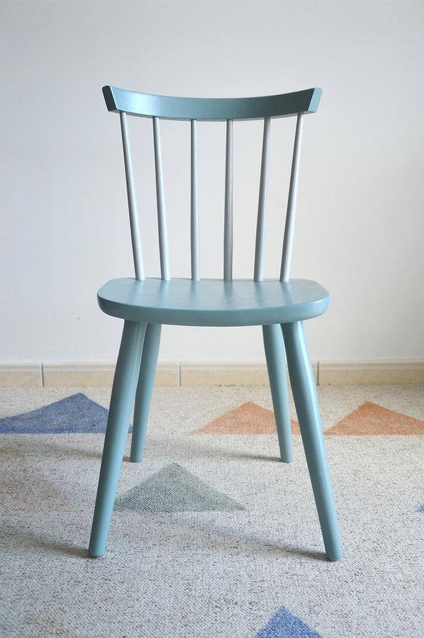 chaise scandinave relookée pas cher