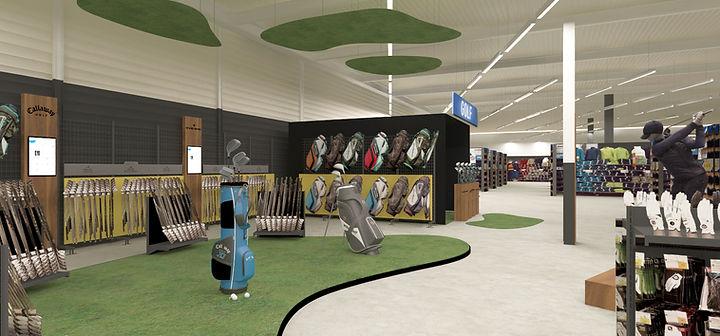 Boutique golf Decathlon Mérignac