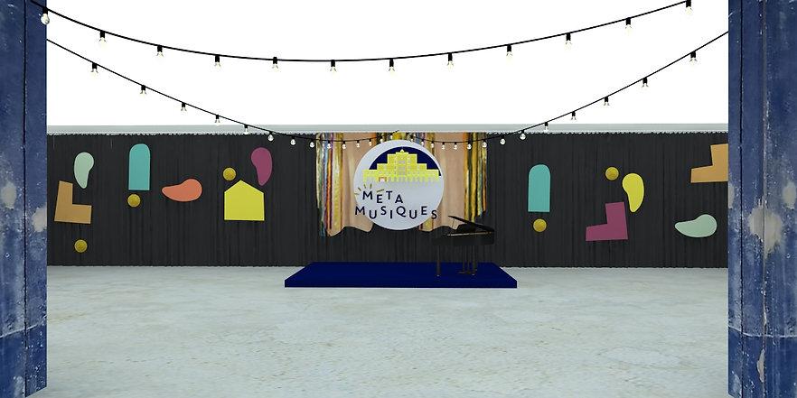 Studio Desamble // Festival MétaMusiques, Fondation Martell Cognac