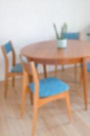 Table vintage ronde