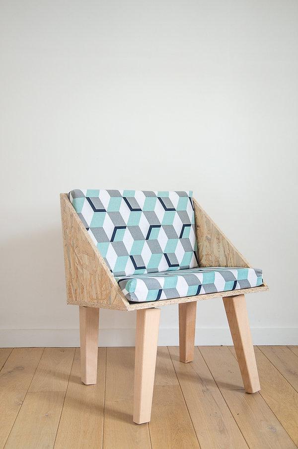 Chaise en bois Desamble