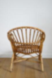 Rocking chair vintage relookée pas cher