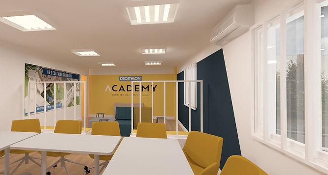 Studio Desamble - Architecte d'intérieur // Aménagement salle de réunion