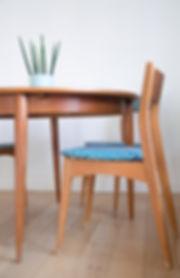 Table salle à manger années 50
