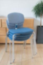 Chaises design en aluminium Desamble