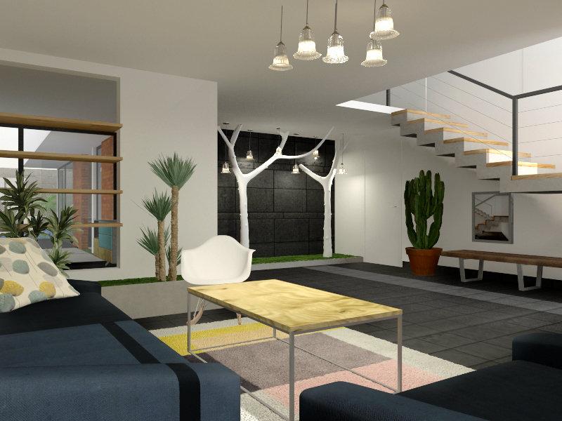 Projet architecture intérieur