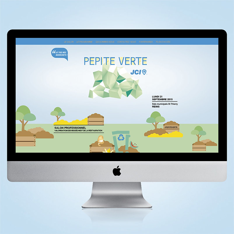 Site web Pepite Verte