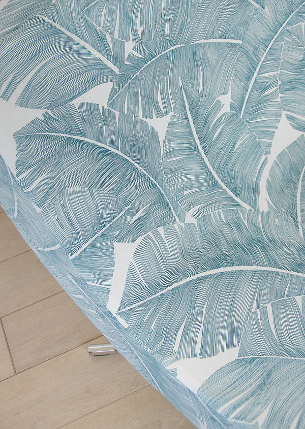 Tissu feuilles palmier