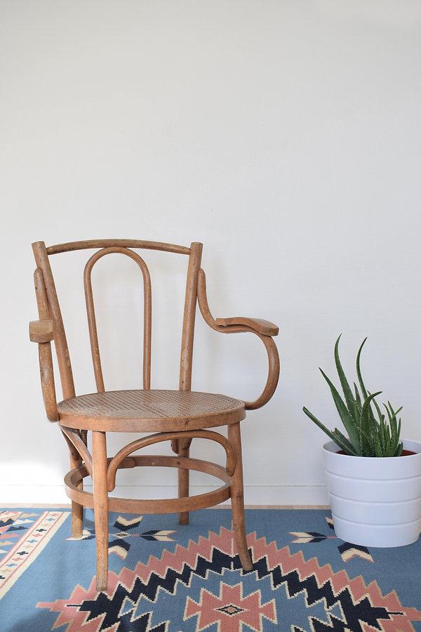 Chaise en wax