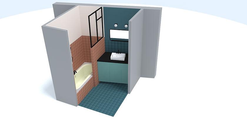 STUDIO DESAMBLE // Rénovation salle de bain Reims