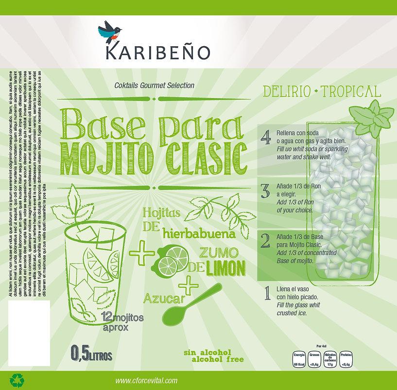 Identité visuelle marque de cocktails Karibeno