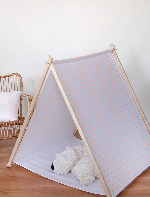 Tente de jeux enfants en bois