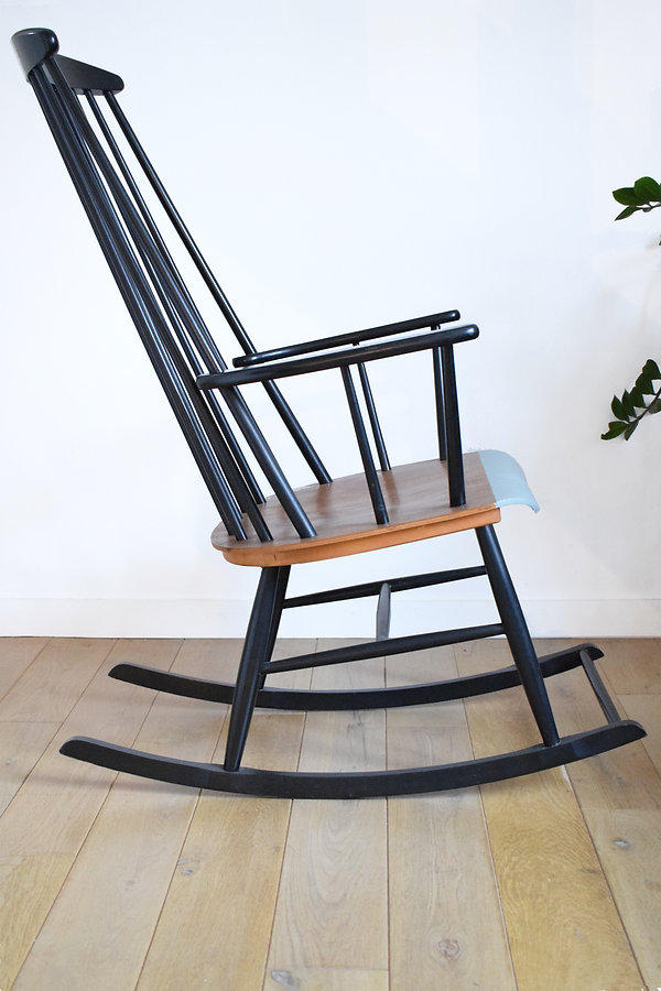 Rocking chair vintage Ilmari Tapiovaara