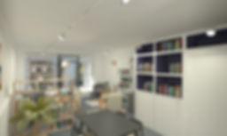 Projet d'aménagement intérieur et décoration boutique à Poitiers
