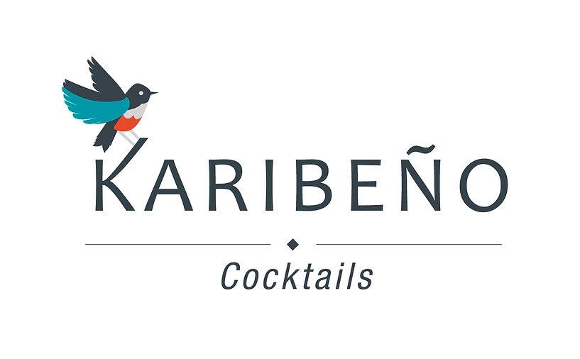Logo marque de cocktails Karibeno