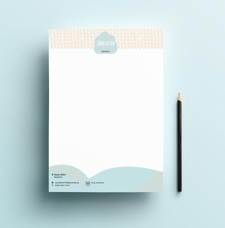 Création papier entête