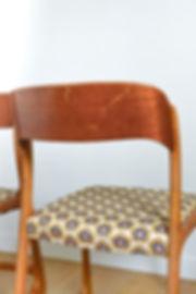 Chaise pied traineau Baumann