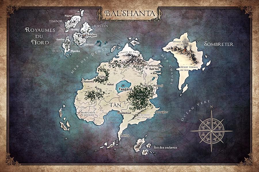 Carte de Bâl'Shanta