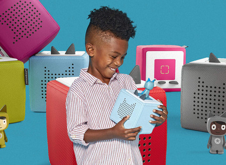 European kids love this screen-free storytelling device. Now U.S. kids can get it too