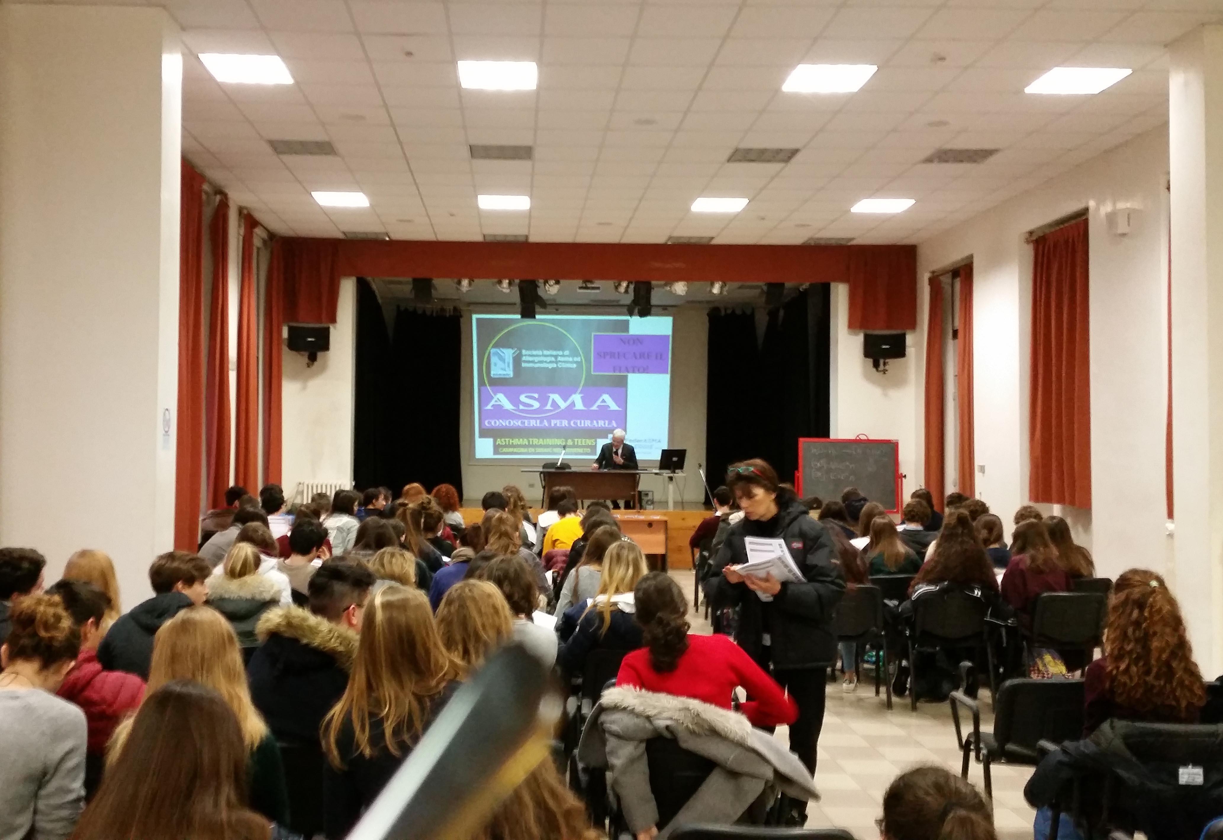 Liceo Tito Livio 6_feb_2017 aula magna
