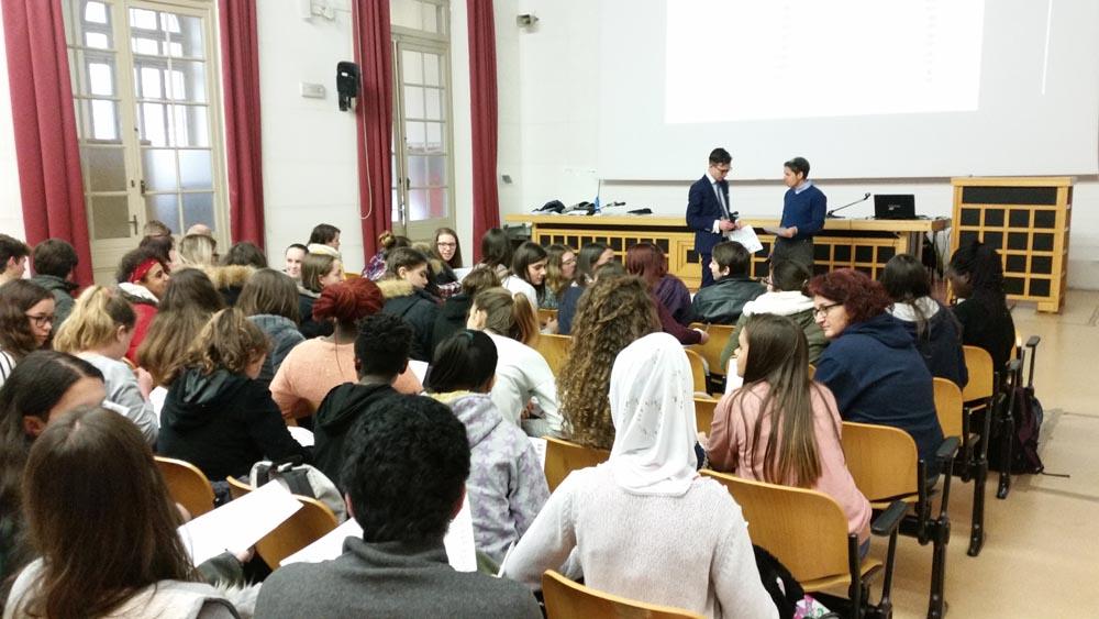 IPSIA Ceconi Udine Lezione dott Federico Reccardini