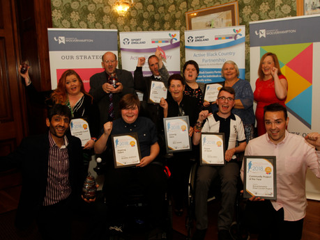 Winners announced at Black Country Sport and Physical Activity Awards