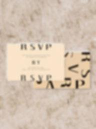 rsvp wedding stationery
