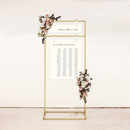 Kinfolk Two Piece Seating Chart