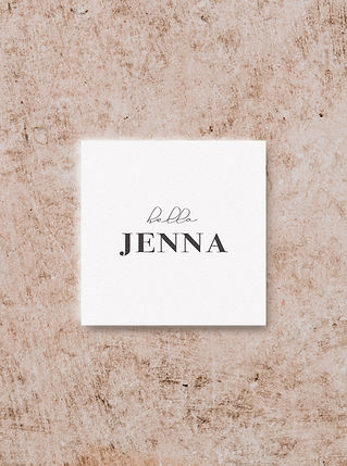 PLACE CARD DESIGN FROM THE VOGUE WEDDING