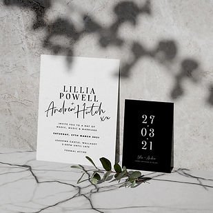 reverie wedding stationery collection