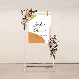 WELCOME SIGN wedding signage