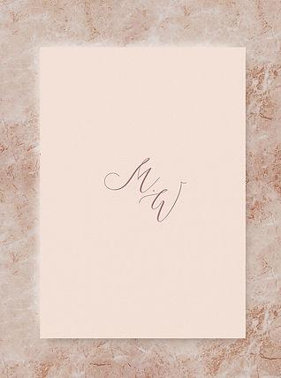 wedding informatin card