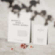 kinfolk wedding stationery collection