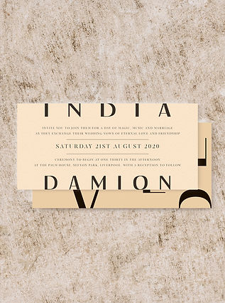 invitation wedding stationery