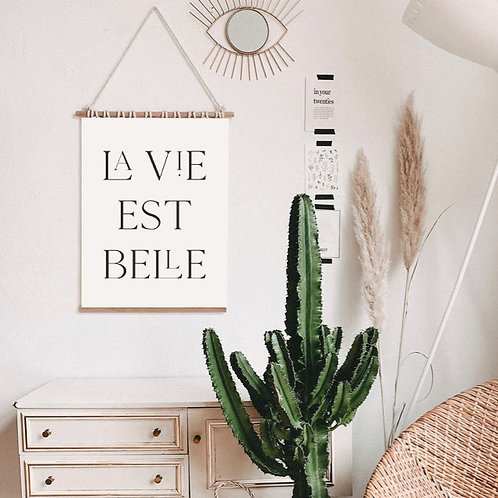 'Belle' Art Print