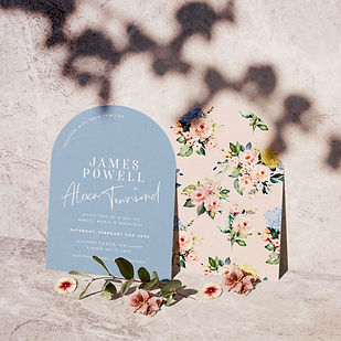 florality wedding stationery collection