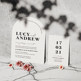 VOGUE WEDDING STATIONERY COLLECTION