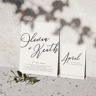 breeze wedding stationery collection