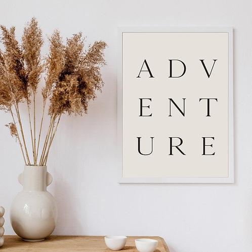 'Adventure' Art Print