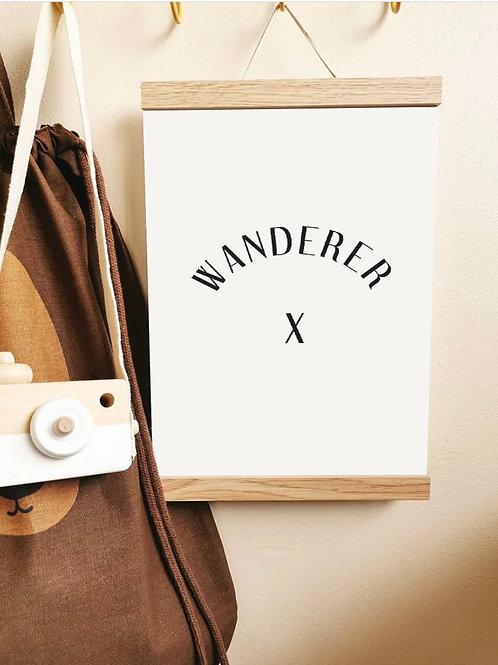 'Wanderer' Art Print