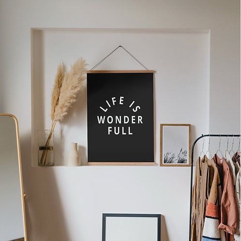 'Wonder Full' Art Print