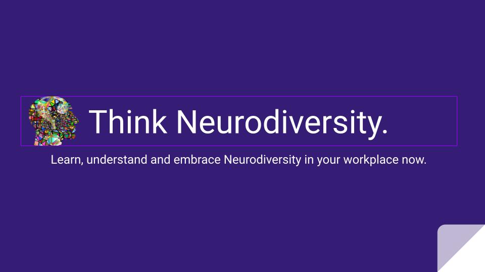 Think Neurodiversity