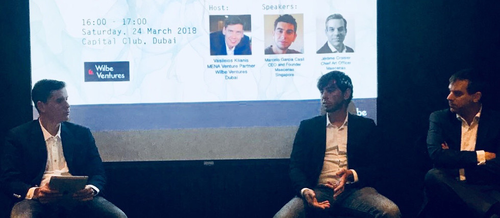 ArtDubai Event: Art meets Blockchain