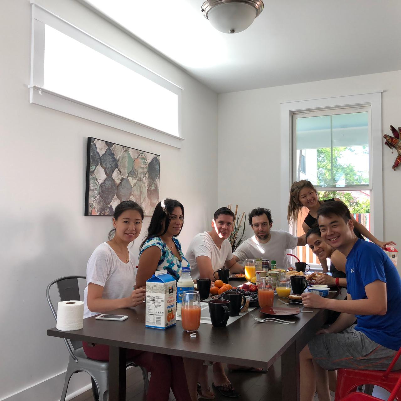 Wilbe Team Breakfast
