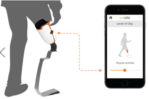 Creoto's smart socket technology and how it can be digitally controlled to an app.