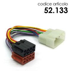 CAV.ISO HONDA ACCORD 10/98>LOGO-CIVIC-SWIFT'05-FIAT 16-SWIFT'11