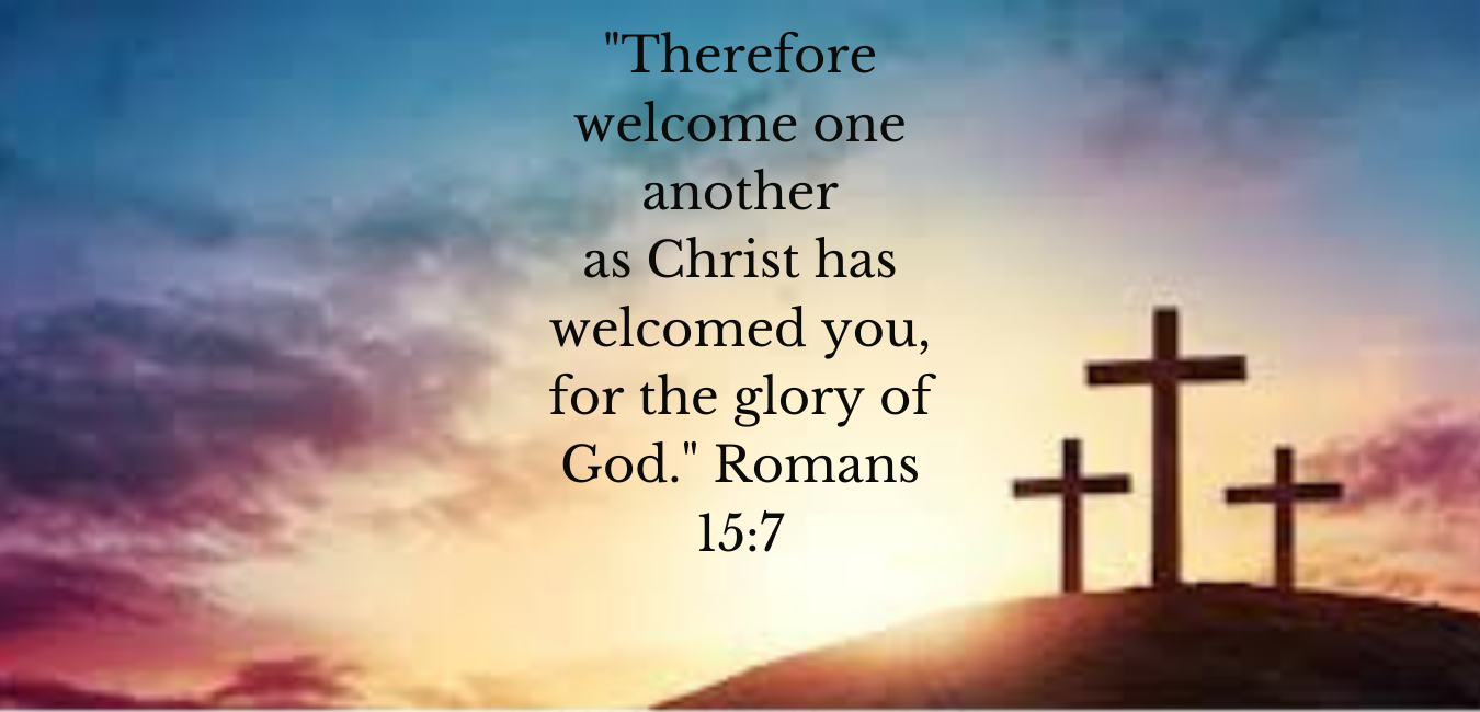 _Therefore welcome one another as Christ