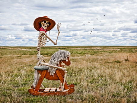 Your Horse Is Dead & You're Still In The Saddle:  Perseveration