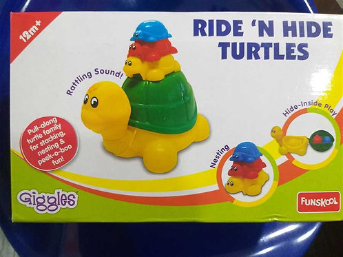 Ride N Hide Turtle